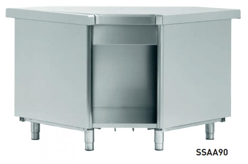 Dispensador de platos Self Angular Infrico SSA