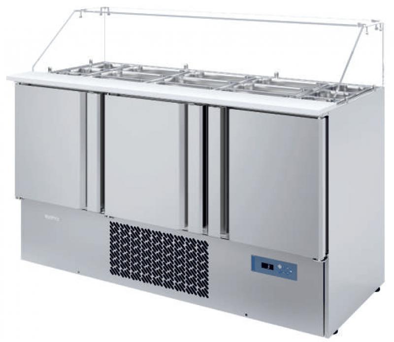 Mesa refrigerada para Ensalada Infrico ME 1003 KB