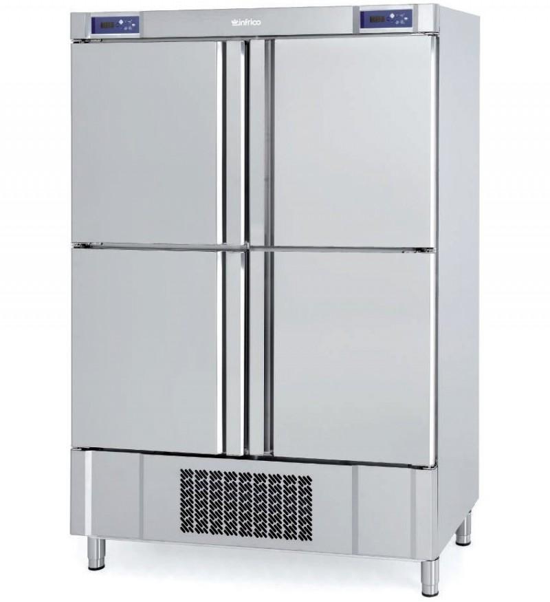Armario refrigeración pescado Infrico Serie Nacional 500/1000 L, ANDP 1004 TF/G