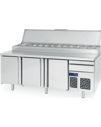 Mesa refrigerada para pizza modelo Lucena Infrico MPL 2300