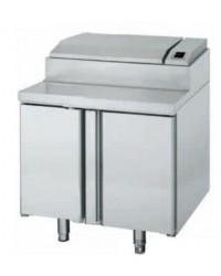 Mesa refrigerada ventilada para ensalada Infrico MEV 1000