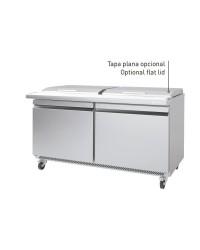 Mesa Infrico UNDERCOUNTER preparación ensaladas/sandwiches megatop UC 48 PMT