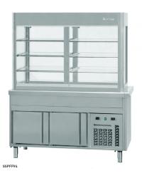 Vitrina refrigerada placa fría Infrico SSPFAV, SSPFFV