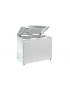 Arcon congelador de tapa abatible Infrico HF 320 AL
