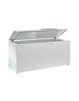 Arcon congelador de tapa abatible Infrico HF 550 AL