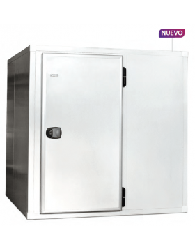 Cámara frigorífica panelable 2180 X 2580 X 2180 Eurofred