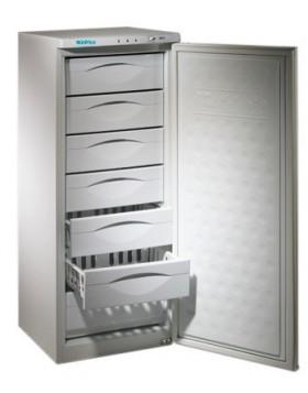 Congelador vertical Infrico CV 220 de 7 cajones