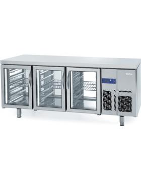 Mesa refrigerada pastelería Euronorma central Infrico MR 2190 PDCR
