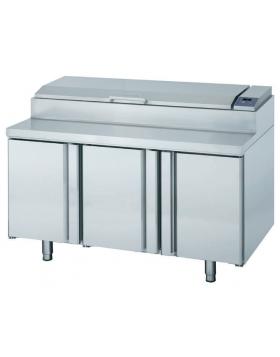 Mesa refrigerada ventilada para ensalada Infrico MEV 1500