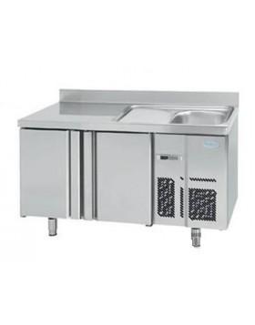 Mesa refrigerada fregadero Infrico BMPPF 1500 II