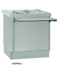 Elementos neutros para carro dispensador de platos, Vasos y Bandejas Infrico