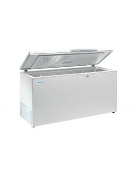 Arcon congelador de tapa abatible Infrico HF 500 AL