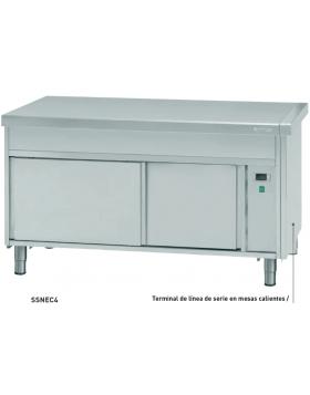 Mesa caliente infrico SSNEC3, SSNEC4, SSNEC6