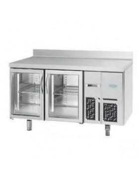 Mesa refrigerada infrico BMGN 1470 CR Puertas cristal
