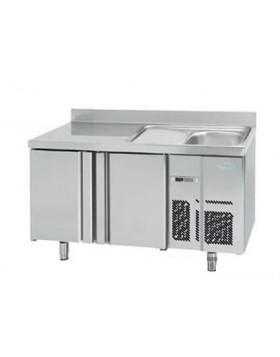 Mesa refrigerada con Fregadero Infrico BMGN 1470 F