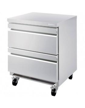 Mesa Infrico UNDERCOUNTER refrigerados cajones UC 27 2D