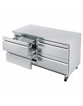 Mesa Infrico UNDERCOUNTER refrigerados cajones UC 60 4D